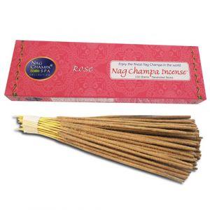 Rose Incense -100 Hand Rolled Sticks-ROSE-100
