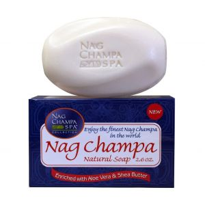 Nag Champa Natural Soap (75 gms) 6 Bars-SP-NAG-75-6-BARS