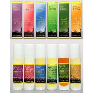 Perfume Roll-On Gift Set - Set of 6 Oils with Boxes-GS-OIL-ROLLON