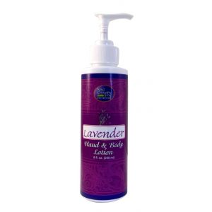 Lavender Hand & Body Lotion     (8 Fl Oz)-LTN-904