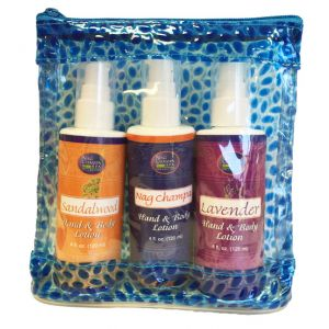 Nag Champa Spa Lotion Trio (Nag Champa, Sandalwood, Lavender)-SPA-10