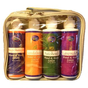 Nag Champa Hand & Body Lotion Gift Set - 4 Bottles, 8 oz. each-SPA-14