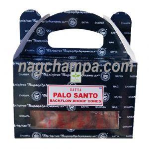 Palo Santo Backflow Cones (Satya) - Box Of 24-BFCONES-PALO