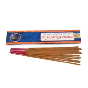 Nag Champa Gold Incense (15 Sticks)-GOLD-15