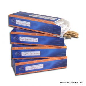 NAG CHAMPA GOLD INCENSE STICKS (Kilo Pack- 4 x 250 Sticks) (WHOLESALE)-WS-GOLD-1000
