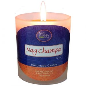 Nag Champa Candle Jar From Nag Champa Spa-JAR-NAG