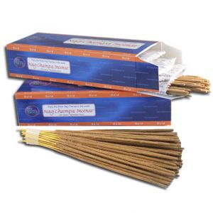 Nag Champa Gold Incense (500 Hand-Rolled Sticks)-GOLD-500