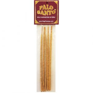 Palo Santo Incense Sticks - Holy Wood (Bursera Graveolens)  5 Sticks, 8 Inch-PALO-SANTO-INCENSE