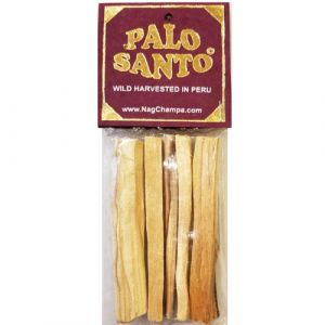 Palo Santo Incense Sticks - Holy Wood (Bursera Graveolens)  5 Sticks, 4 Inch-PALO-SANTO-STICKS