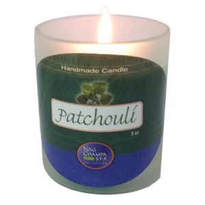 Patchouli Candle Jar From Nag Champa Spa-JAR-PAT