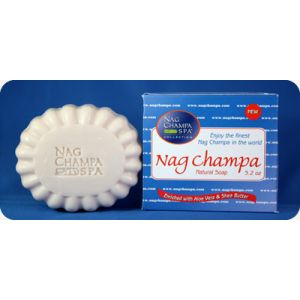 Nag Champa Natural Soap - 5.2 oz. (150gm)-SP-NAG-150