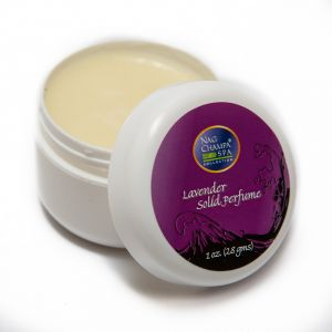 Lavender Solid Perfume In A Natural Beeswax Base. Large 1 Oz. Jar.-SOLID-PERF-LAV