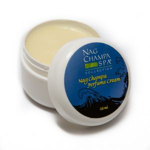 Nag Champa Solid Perfume In A Natural Beeswax Base. Large 1 Oz. Jar.-SOLID-PERF-NAG