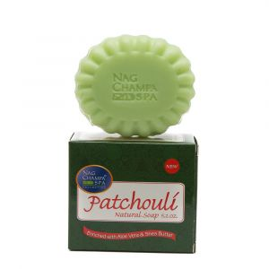 PATCHOULI SOAP by Nag Champa Spa (150gm)-SP-PAT-150