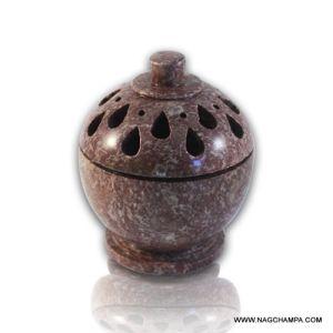 Cone Burner - Teardrops (Natural Soapstone)-SC-1