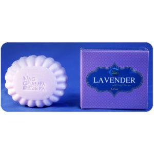 LAVENDER SOAP by Nag Champa Spa (150gm)-SP-LAV-150