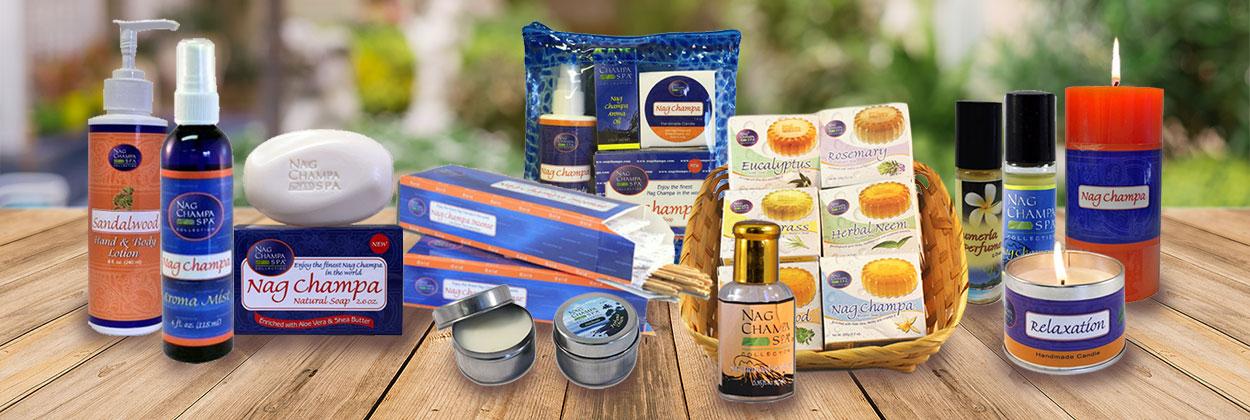 Nagchampa products